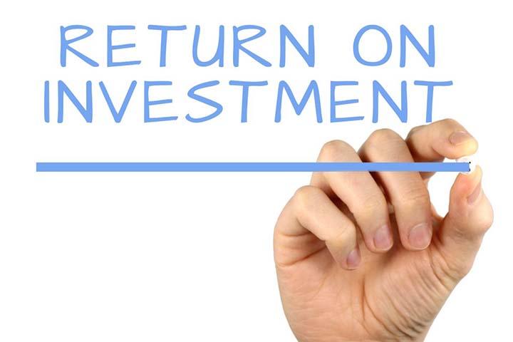return on investment bij wedden