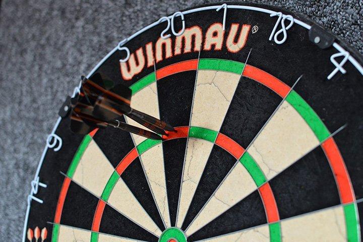 wedden op darts