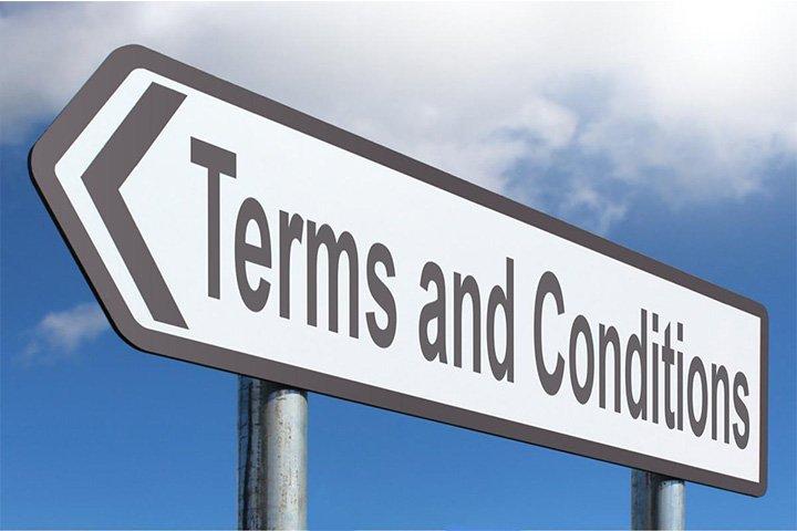 Weetjes over algemene voorwaarden