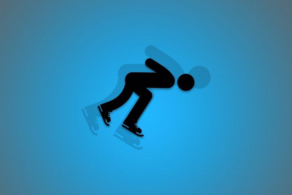 wedden op schaatsen