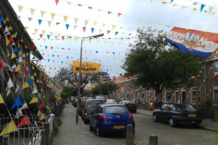 Versierde straten in Nederland