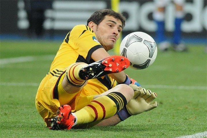 Teen van Casillas wk voetbal