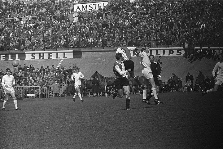 Ajax - Feyenoord in het Olympisch stadion