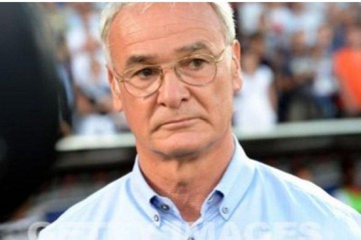 Trainer Claudio Ranieri