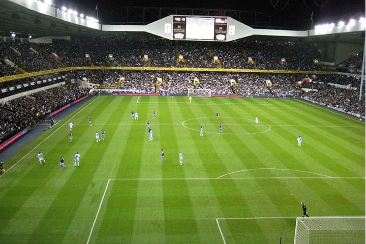 White Hart Lane Stadion Tottenham