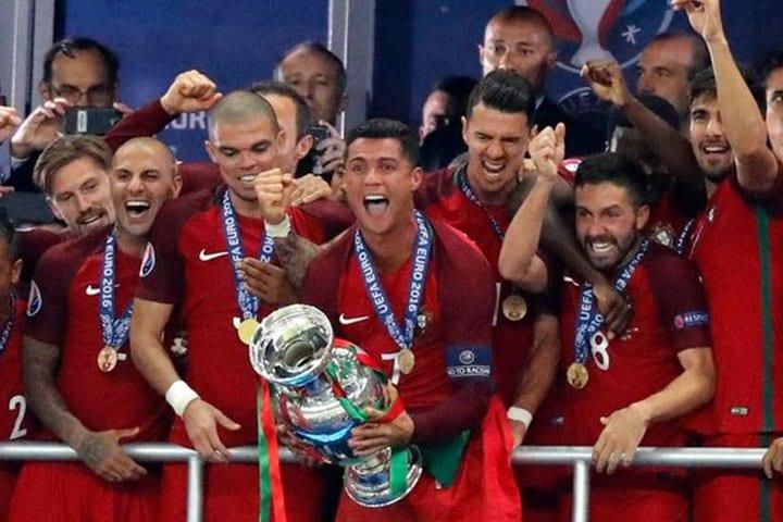 Portugal kampioen 2016