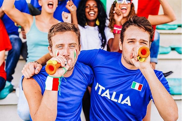 Italiaanse Supporters